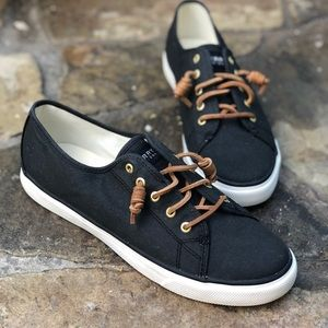 Sperry Topsiders Womens Seacoast Canvas SneakerS